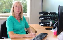 Social care PR photography of Angela Currie, Operations Director at Blackwood