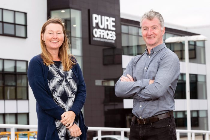 Scottish PR photography new offices at Edinburgh Park