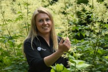 Scottish PR photohraphy Kirsty Wilson, Herbaceous Supervisor at Royal Botanic Garden Edinburgh.