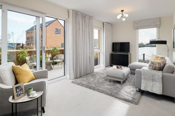 Waterfront Plaza Showhome interior Property PR photography