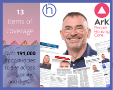 PR in Scotland, PR photography Ark Makes the grade with care inspectorate success post graphic