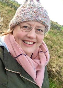 Scottish PR photography East Lothian volunteer nominees, Paths For All, Sue Jardine headshot