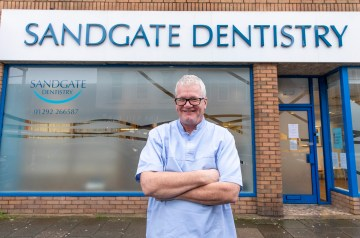 Dental PR photography, Sandgate Dentistry, Clyde Munro Dental Group - Mark Fitzpatrick