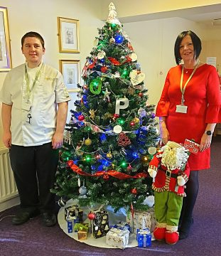 Social care PR photography Tree of Hope at Bield Housing and care