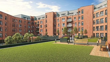 Property PR photography Waterfront Plaza raised gardens, CALA Homes (East)