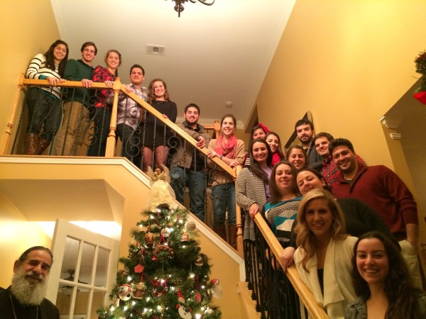 College Student Christmas Reunion 2013