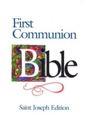 First Communion Bible Boys