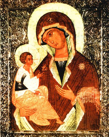 The<br /><br />Jerusalem Icon of the Mother of God