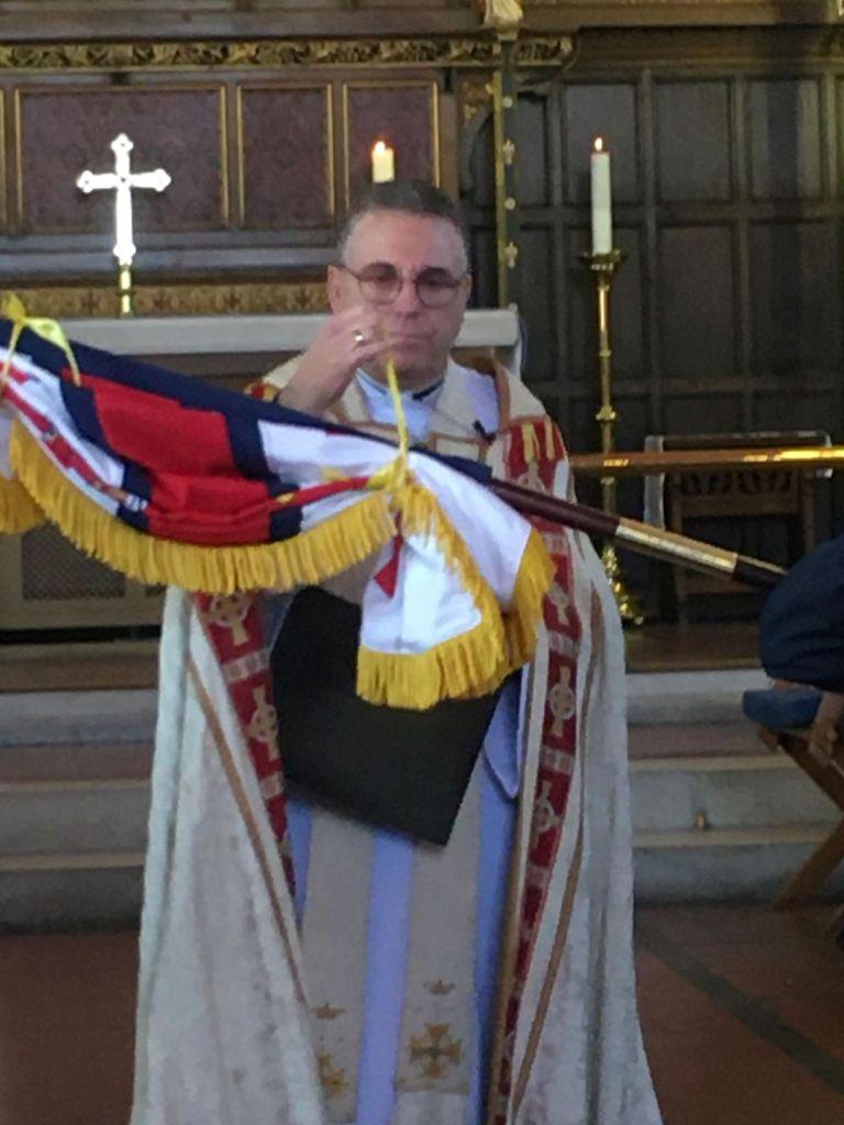 Dedication ceremony New Weymouth RNLI Standard