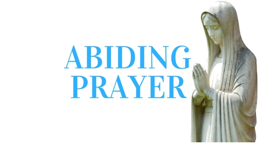 Abiding Prayer