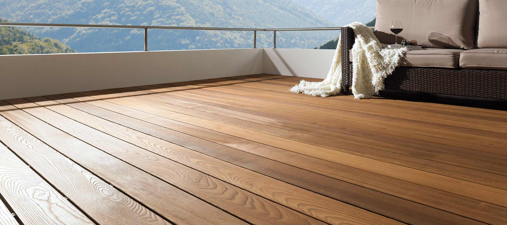 Holz Terrassenbelag Muster Verlegen