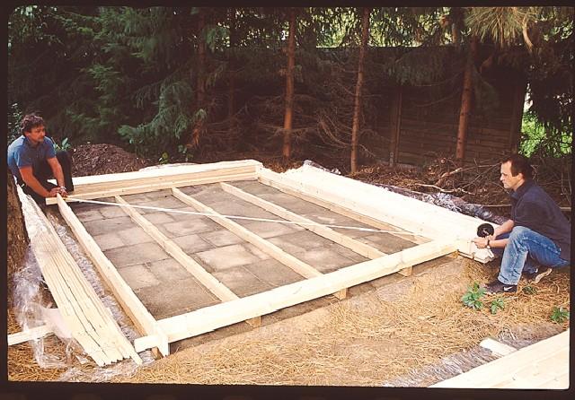 Fundament  Holz Angebot