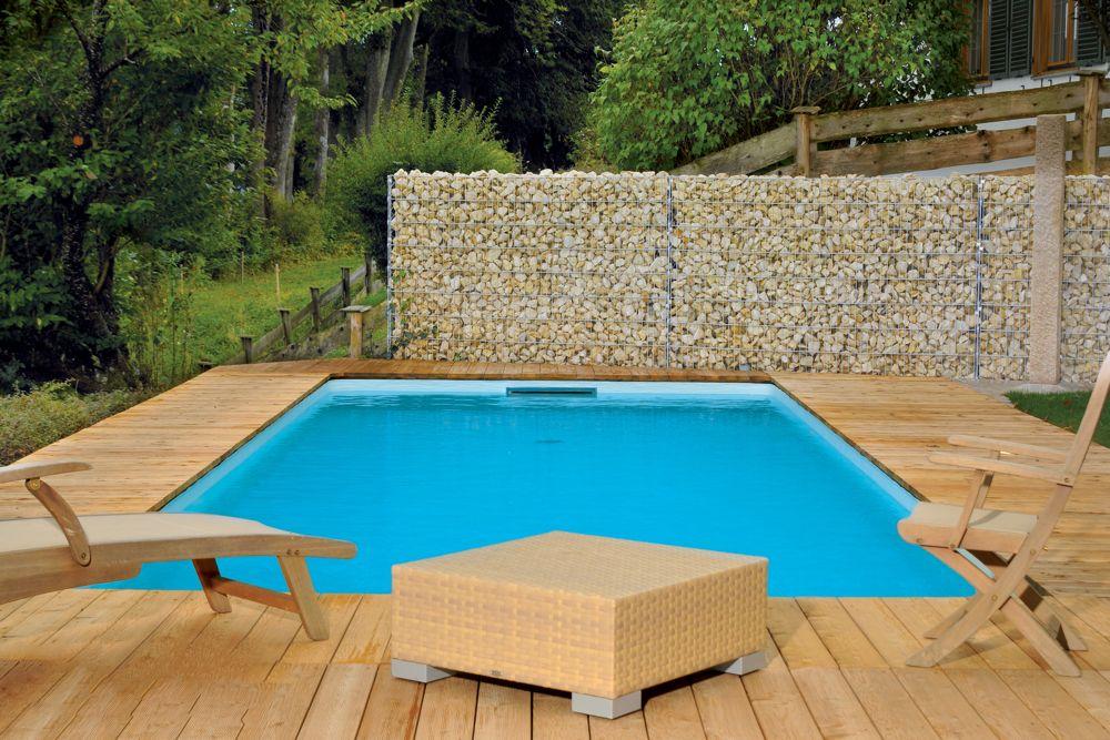 SwimmingpoolBausatz APIA BetonwandSchwimmbecken 120m