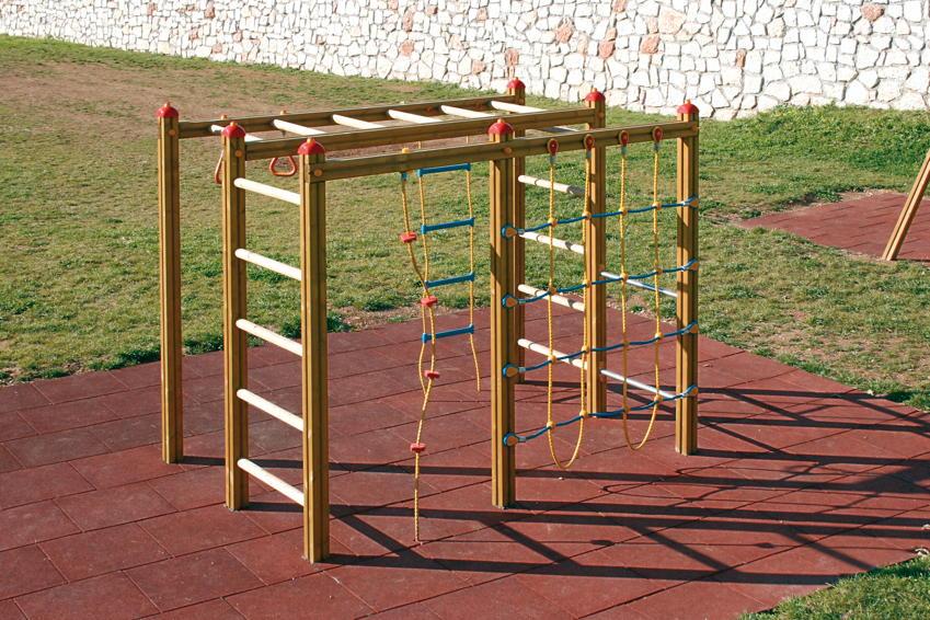Kletterwände Und Klettergerüste Kinderspielgeräte Für Den Garten