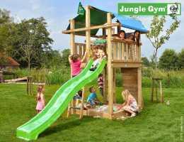 Jungle Gym Spielturm Fort   in Douglasie   Holz Heider