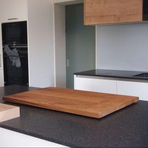 Kochfeldabdeckung 80x53cm in Küche von Holz-Liebling