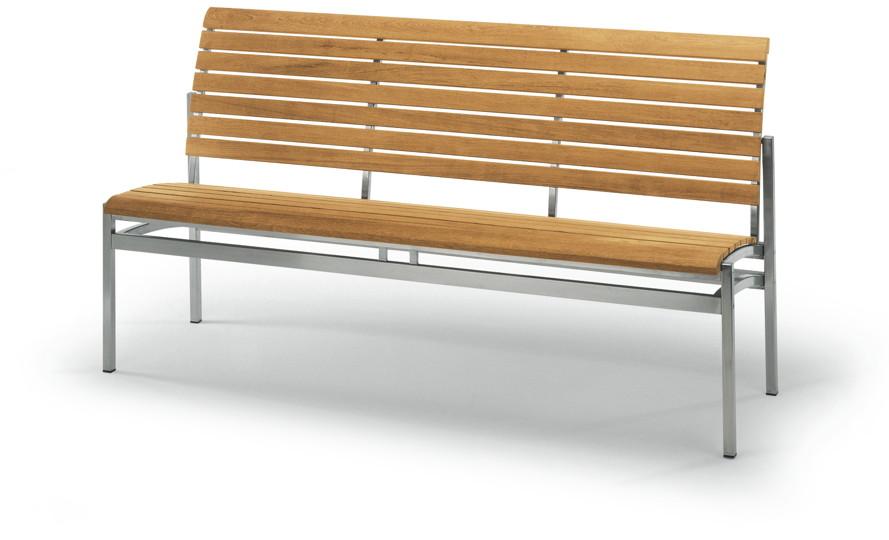 gartenbank holz ohne armlehne » terrassenholz, Moderne