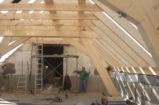 Projekt Scheunenausbau Holzbau Bruns Zimmerei Mechernich