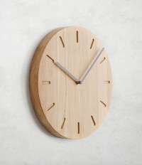 Wanduhr WATCH:OUT von applicata I HolzDesignPur