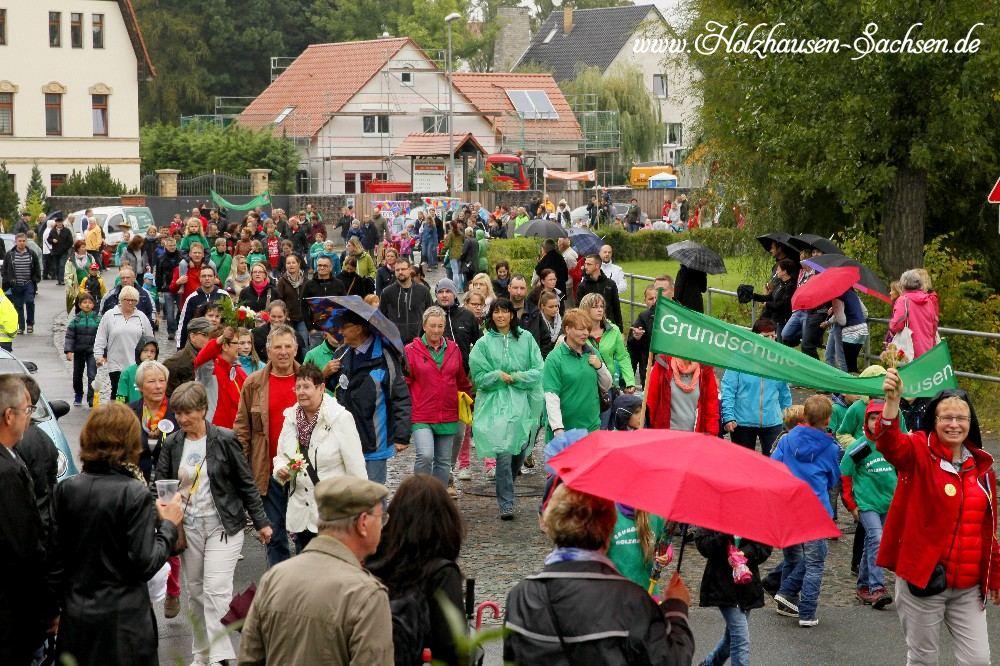 Bilder vom Festumzug 725 Jahrfeier Holzhausen