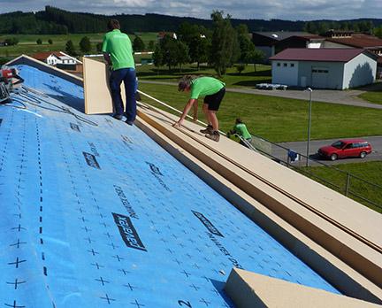 Dämmstoffe fürs Dach