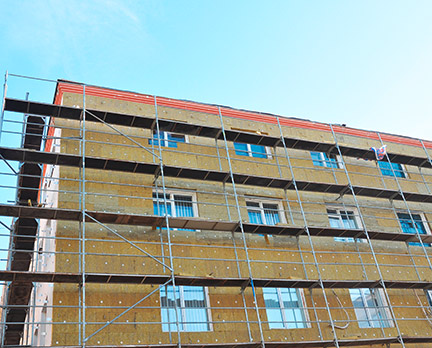 Dämmstoffe für Fassaden