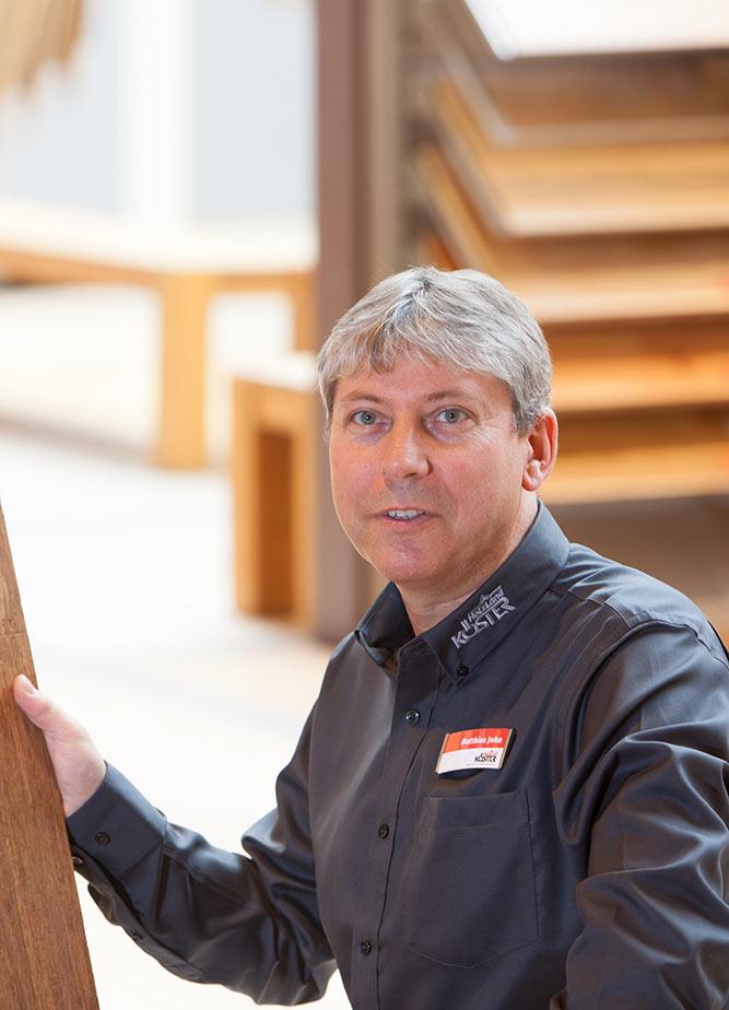 Mitarbeiter Matthias John
