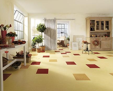 Linoleum-Boden