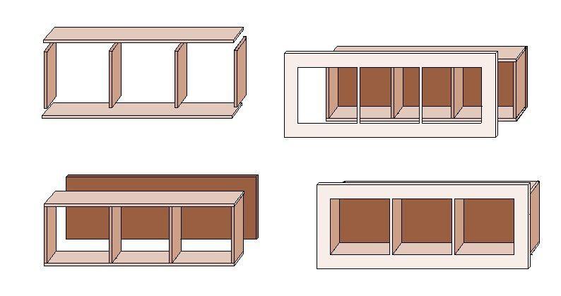 wandregal selber bauen anleitung. Black Bedroom Furniture Sets. Home Design Ideas
