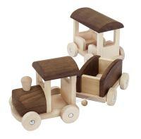 kologisch! Holz-Eisenbahn! Zug! | Holz Spielzeug Peitz
