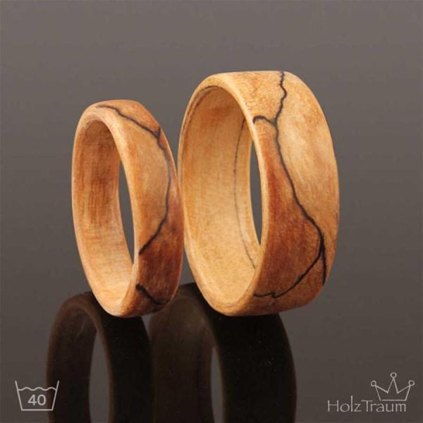Holzringe aus Trüffelbuche