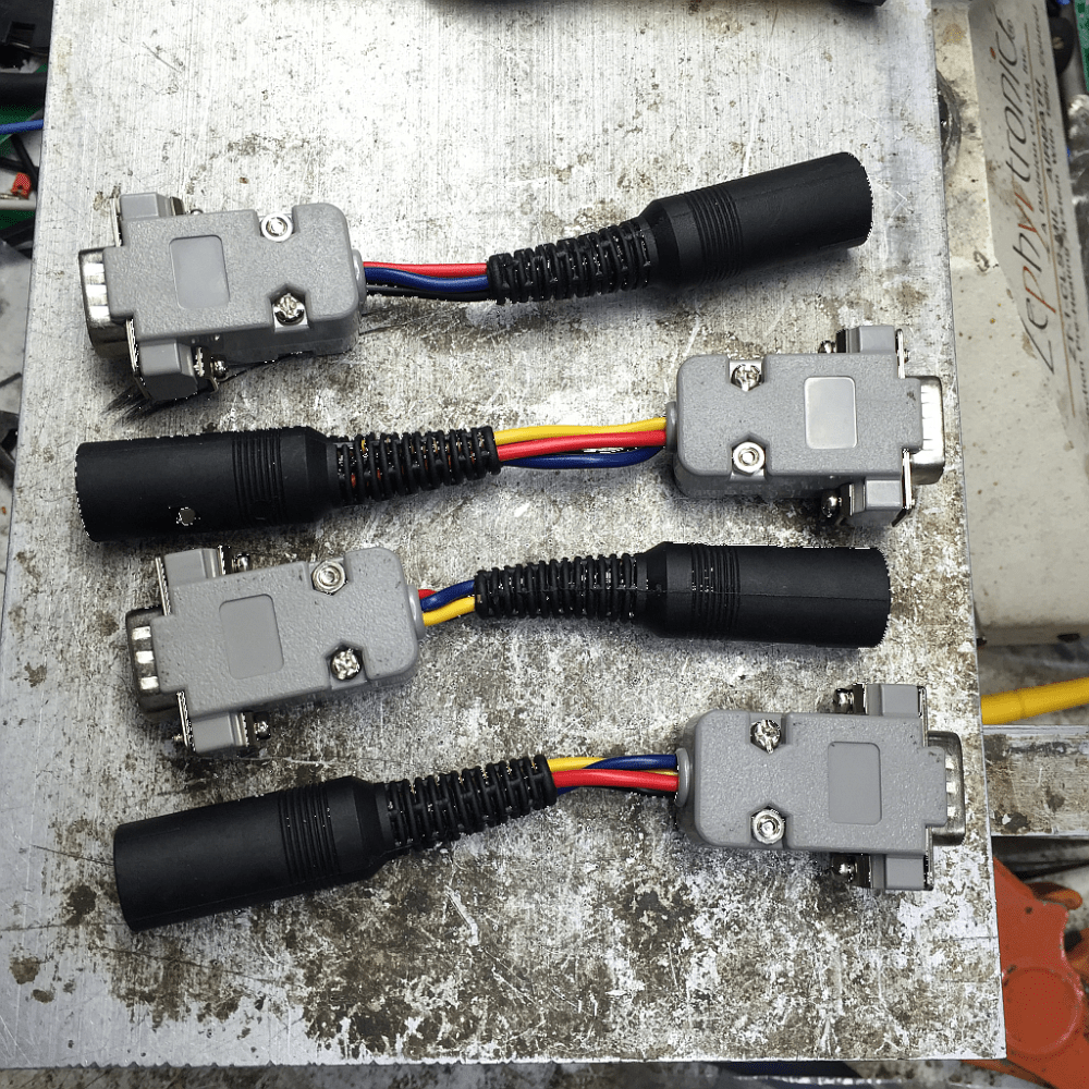 medium resolution of completed adapter lead set