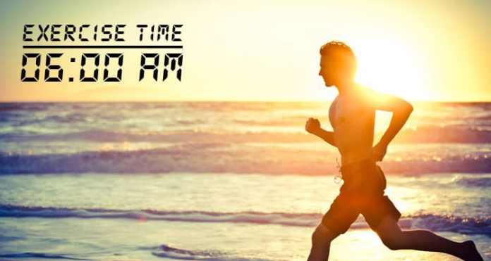 El momento para el ejercicio