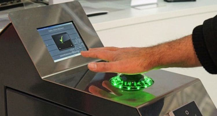 El sensor PalmSecure