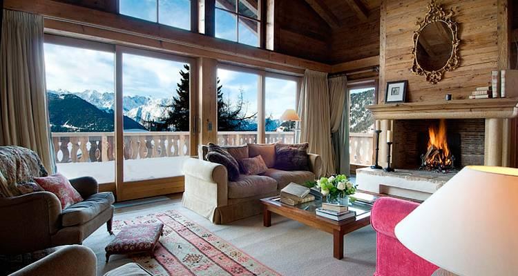 Chalets de lujo en complejos de esquí
