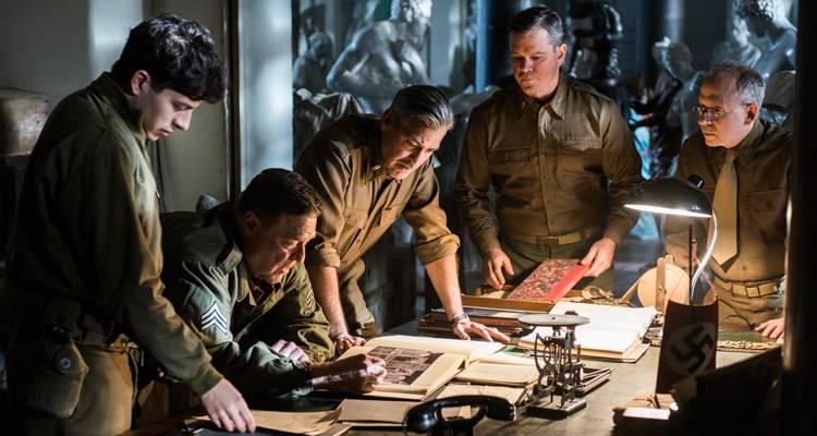 Cine: 'Monuments Men'
