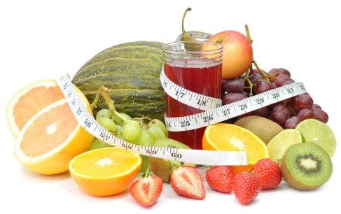 Adelgaza con jugos de frutas y verduras