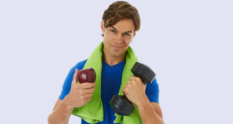 Snacks para el entrenamiento