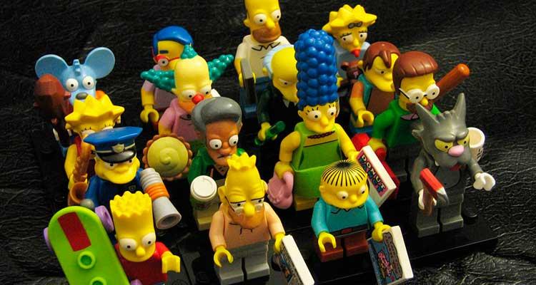 Los Simpson en el planeta Lego