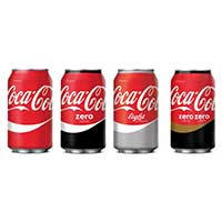 Coca-Cola recupera el rojo para todos sus productos