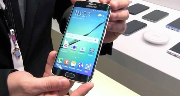 MWC 2015: Samsung Galaxy S6 Edge