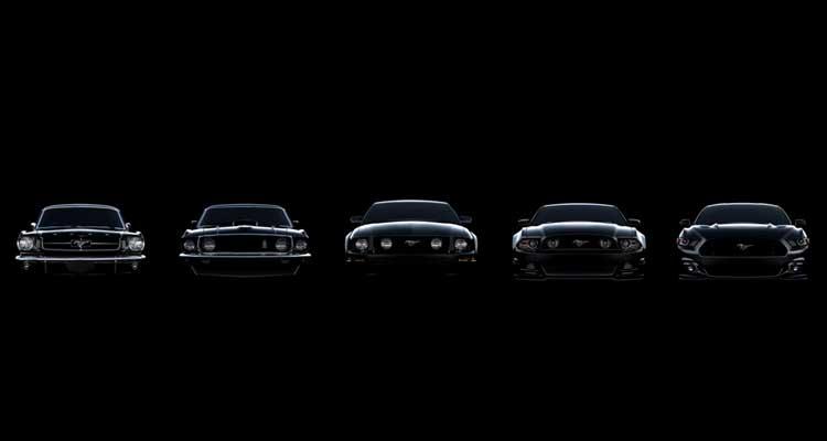 La evolución del Ford Mustang