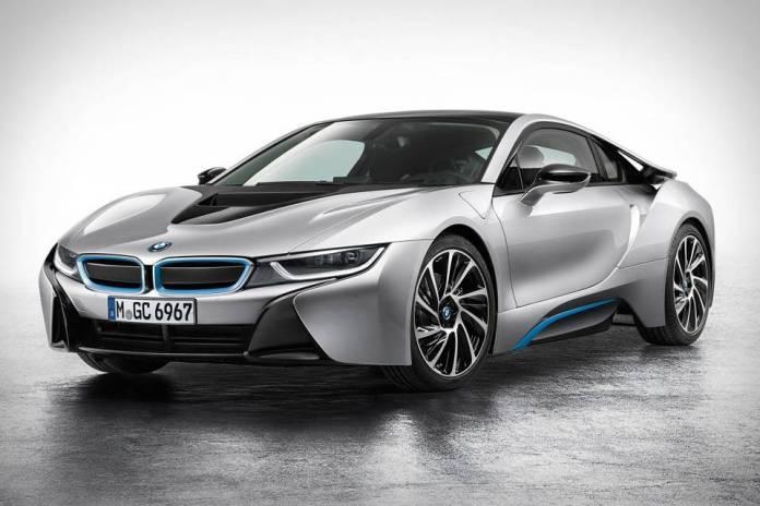 Prueba del BMW i8