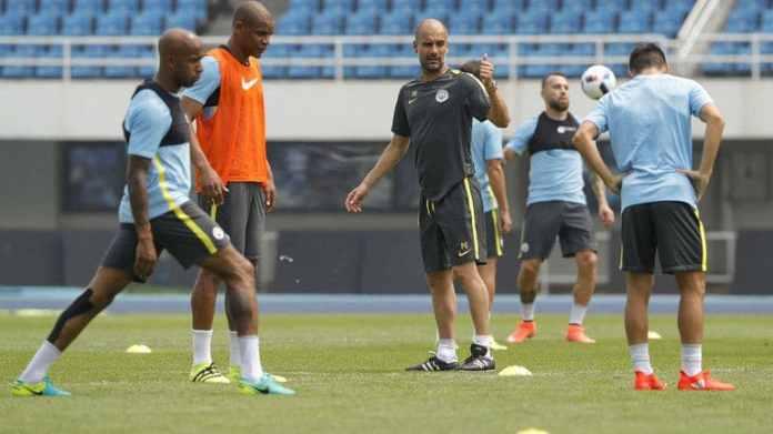 Resultado de imagen de manchester city guardiola training