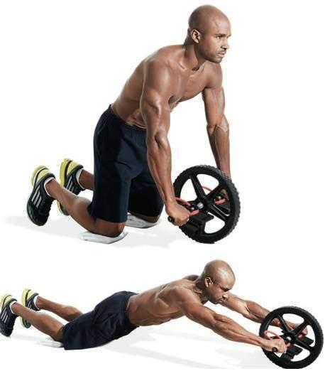 Como hacer abdominales con rueda para sacar el mayor provecho
