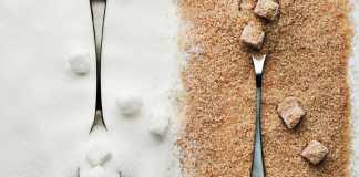 azúcar blanco y azúcar moreno