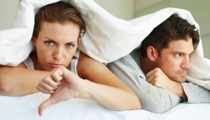5 consecuencias negativas de no tener sexo