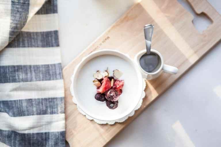 Recetas fáciles: Yogur congelado de fresa y banana