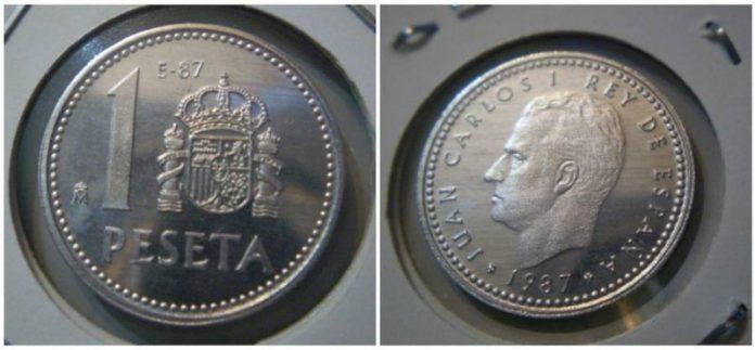 Estas pesetas, si las tienes, valen muchos euros