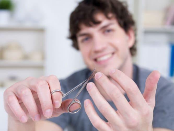 cuidado uñas hombre
